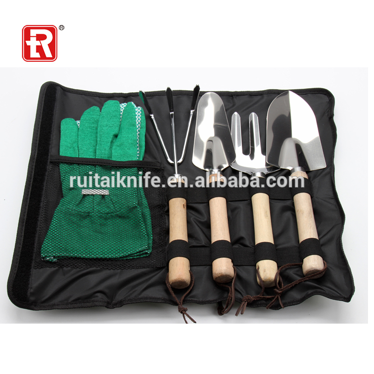 Wholesale alibaba high quality garden tool with rollbag