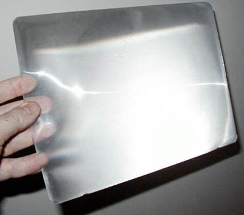 BHM16-PMMA fresnel lens A4 size full page magnifying sheet