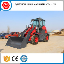 Certification wheel mini tractor with front end loader and backhoe
