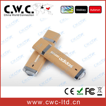 Hot sell environmental PLA usb flash drive