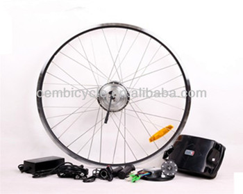 24V8AH 250W Front drive with Disc-brake electric bike kit