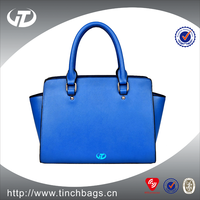 2017high quality PU leather bag Cheap Woman Handbag