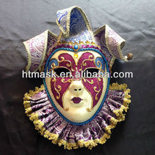 Full Face Paper Pulp Venice Female Mask Different Design Of Masks