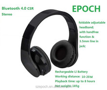 good Bluetooth headphone manufacturer, wireless headphone with 3.5mm jack