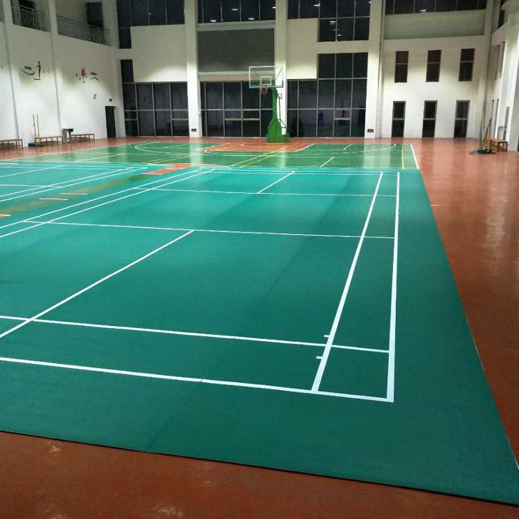paint pvc multi purpose virgin sport badminton shuttlecock court