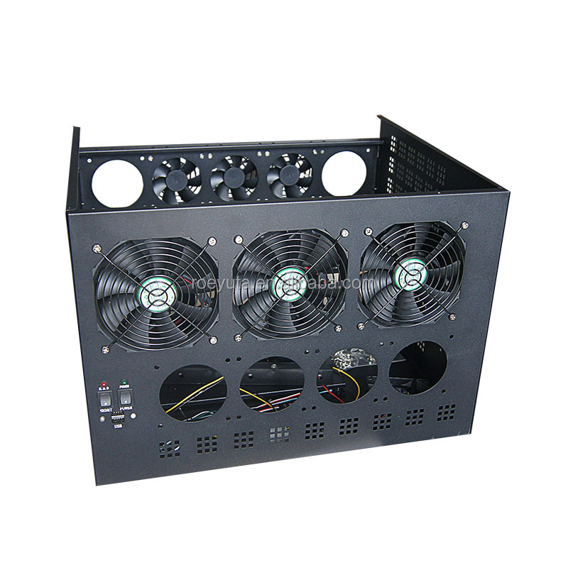 miner case 6 GPU case, rackmount chassis,bitcoin case