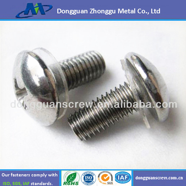 carbon steel Philips Pan Head Screws and Washer