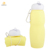 New Silicone Water Bottle Foldable BPA Free Water Bottles With Custom Logo