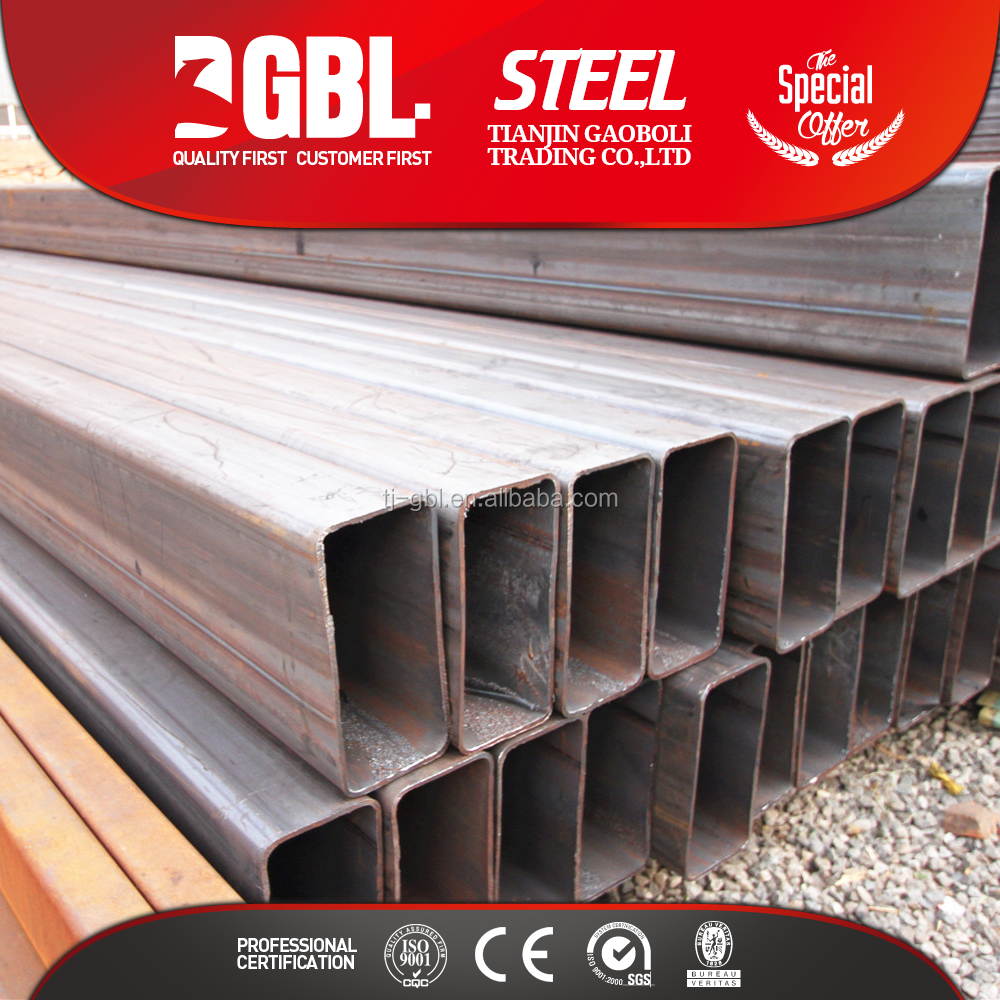 erw weld rectangular pipe weights of black iron pipe