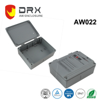 Aluminum Electric Waterproof Enclosures IP67 for Electronics with Hinges