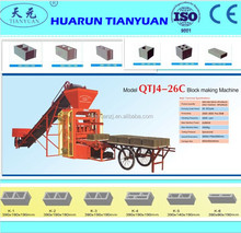 Tianyuan machinery concrete brock machine factory OEM