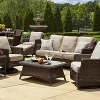 5 Seater Luxurious Traditional Style Rattan