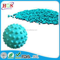 high-quality tpe tpr material, compound, pellets, granules for massaging ball