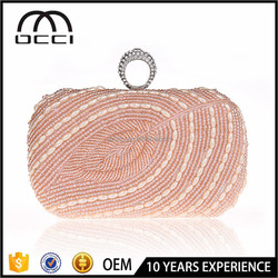 china manufacturing beaded evening bag ladies wholesale bag ES637