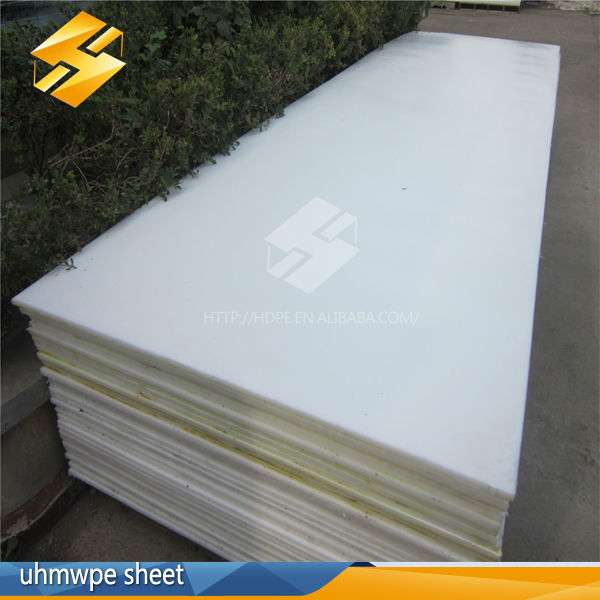high quality Moulding technology 3050x1220x50mm 60mm virgin uhmwpe sheet plastic polyethylene pe sheet hdpe sheet China supplier