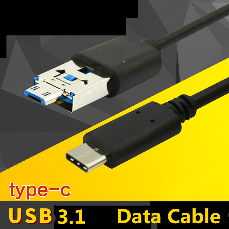 Multi-function 10Gpb Type-C Micro USB3.1 Cable Data Sync & Power Supply & Charging Cords