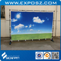 Advertising Jumbo Banner Stand For Display Exhibition