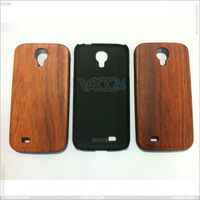 Fashion Design with Wood Back Cover Case for Samsung Galaxy S4 I9500 P-SAMI9500HC044