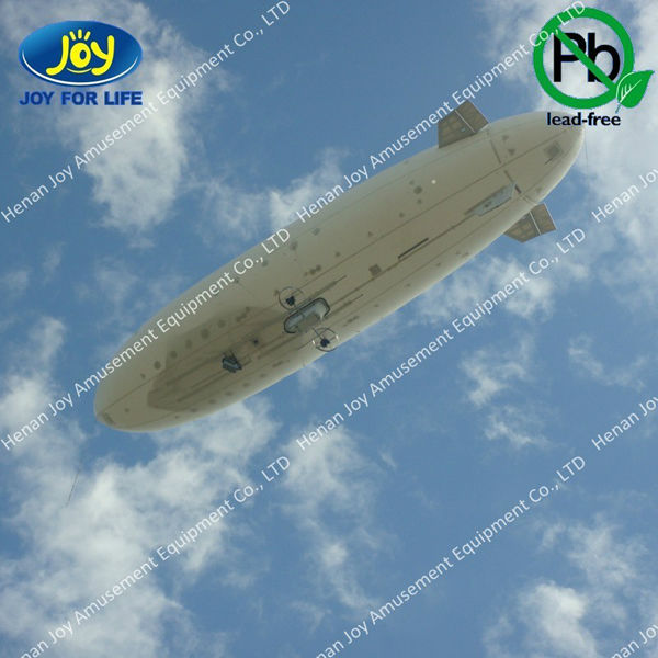 Attractive inflatable rc airship,inflatable airship balloon