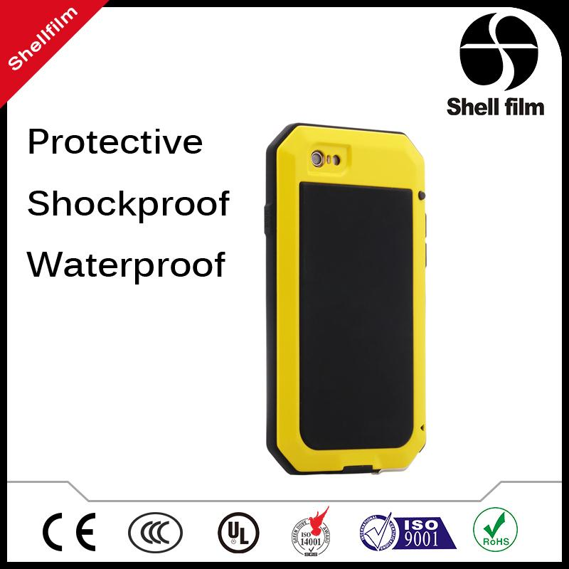 Factory wholesale pvc waterproof phone cover for All 5-5.8inch screen phones with clear window for water sport swimming beach