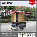 Roman Holiday Edition S Size European Style Environmental Protected Food Cart for Multifunctions