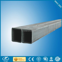 building material welded square steel pipe galvanized/welded tube square