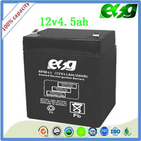 12v4.5ah security system battery Storage battery lead acid battery