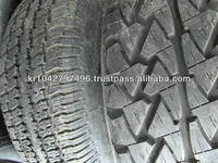 Grade A Used Tire for Wholesale From Korea