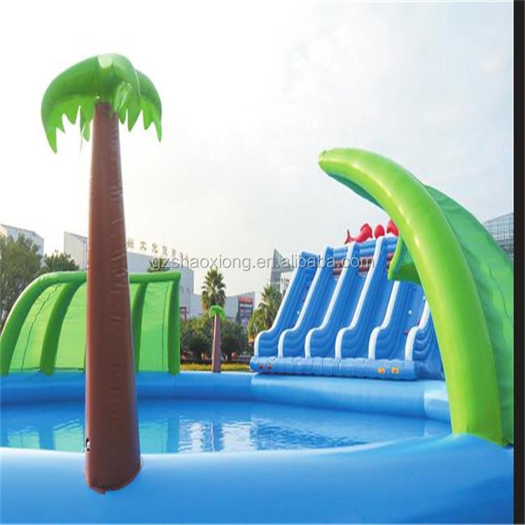 Inflatable Pool Slide kids plastic ball pool slide/inflatable slide for children