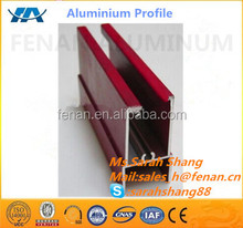 High quality aluminum profile extrusion used for kitchen cabinet frame door