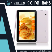 A33 quad core 1G+8G 1024X600 2.0M camera cheap android tablets 10 inch