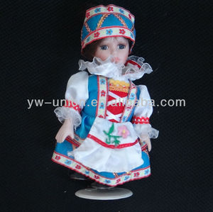 Customized American 8 inch Ethnic Porcelain Doll