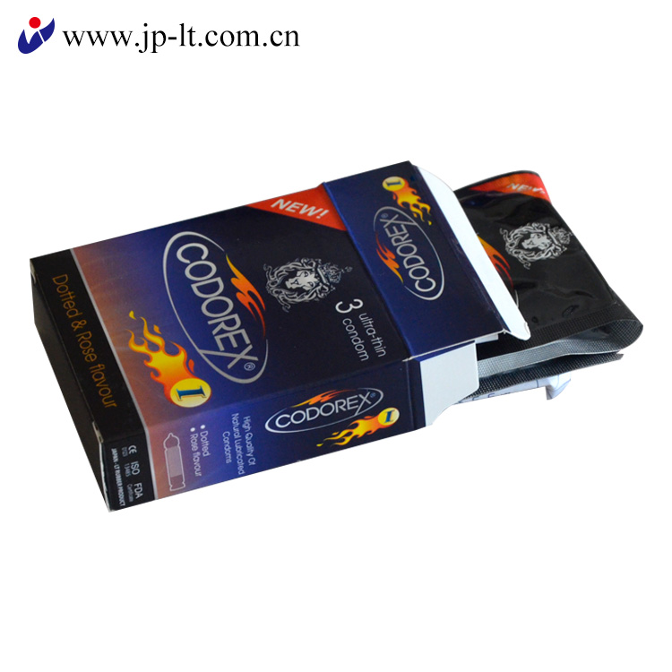 Male Latex Condom With Customized Personal Brand From China Factory