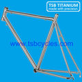 OEM 700c hot sale titanium bike frame titanium road bike frame TSB-HSR0901