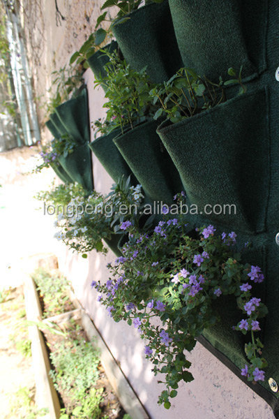 Cheap vertical wall pots planter vertical garden for Cheap vertical garden