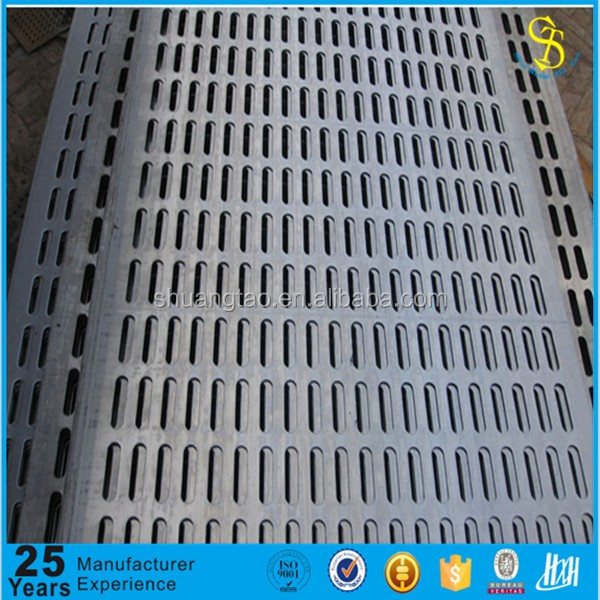 professional produce Metal perforated sheet square punching hole mesh