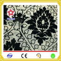 New style flocked velvet fabric price per meter of home textile sofa fabric