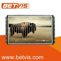 Powerful advertising player with open frame