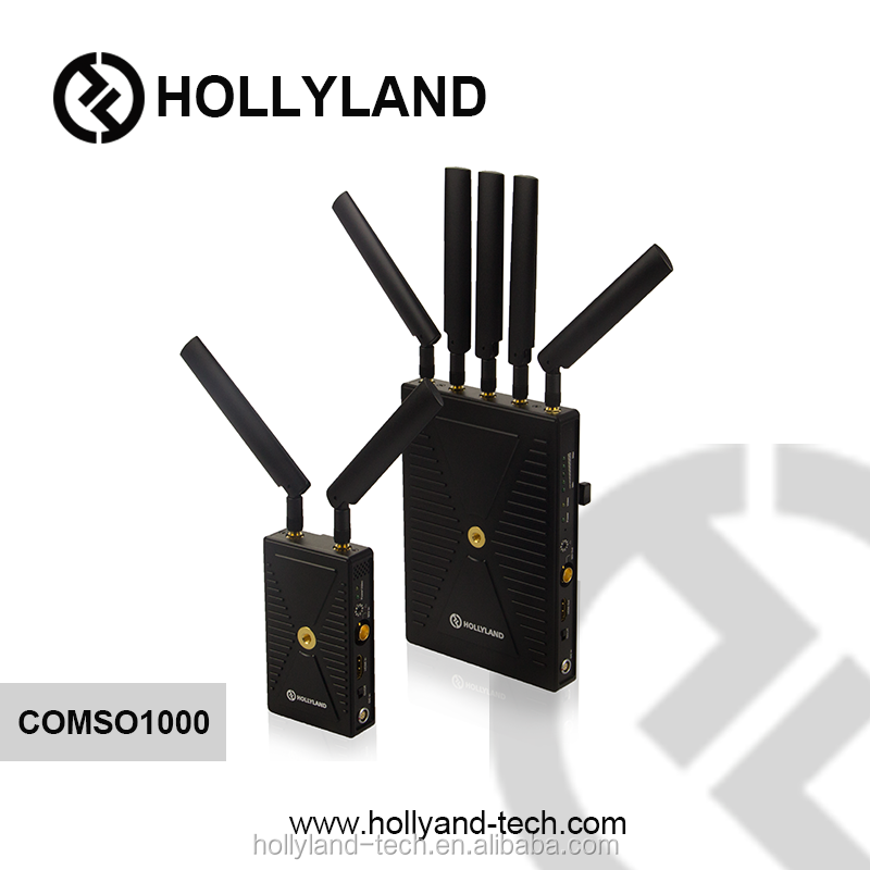 Hollyland Cosmo1000-300m Long Range real-time 5GHz HDMI SDI Video transmission Wireless 1080p Transmitter and Receiver WHDI