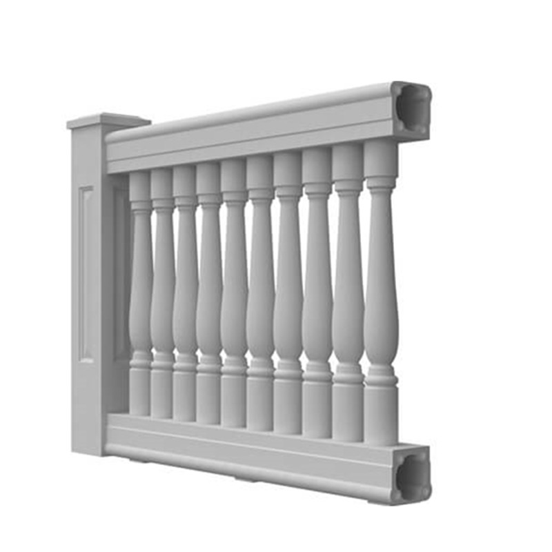 Factory direct sales light weight durable outdoor and indoor fiberglass modern baluster