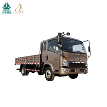 Diesel 4x2 HOWO Light Duty Trucks For Logistics SGS Approval