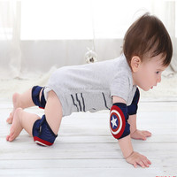 2017 Hot new baby crawling pads for knee and elbow safety protector with wholesale cheap price