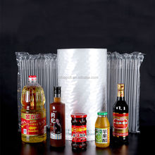 SGS Buffering Packaging column plastic film air bag roll packing colorful bag