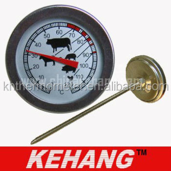 Cooking Kitchen Meat Food BBQ Thermometer with 304 Stainless Steel