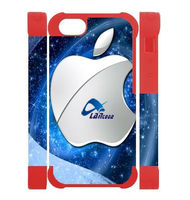 New Hot sale 3D Dual Protective Sublimation case for IPhone 5