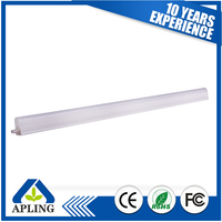 Energy saving factory retrofit t5 led tube 5w 315mm ce rohs