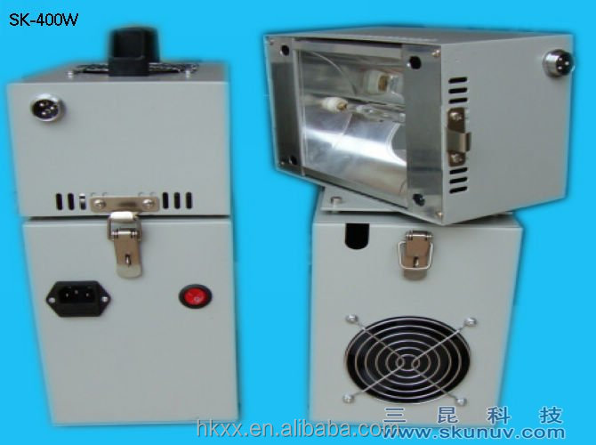 Portable UV light curing machine set small uv curing machine
