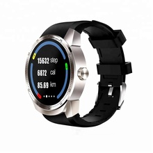 2018 GPS 3G SIM Phone Bluetooth Android WIFI Smart Watch With Waterproof Sport Sleep Monitor Pedometer Wristband