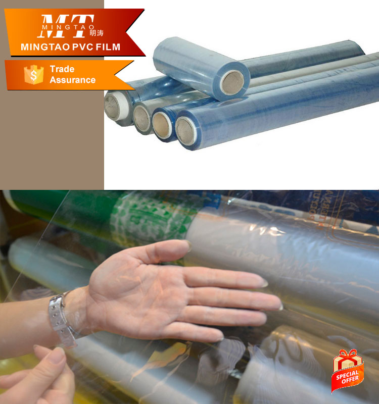 roller calender pvc film for transparency