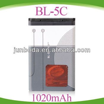 wholesale price BL-5C Battery for Nokia 1100 battery